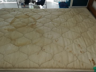 mattress before